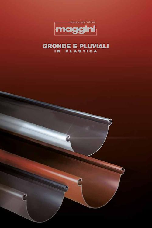 Brochure Gronde e Pluviali in plastica